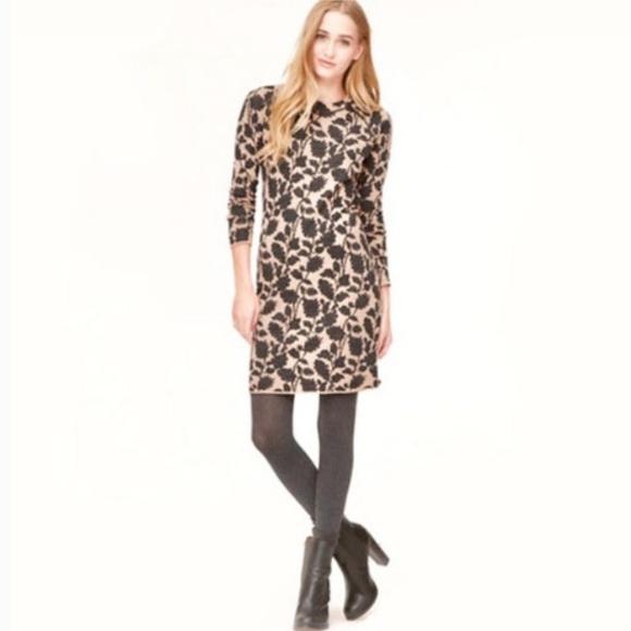 5900954762f LOFT Dresses   Skirts - LOFT Floral Wool blend Sweater Dress